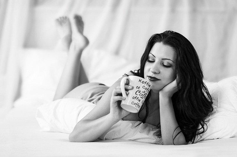 boudoir kávézás