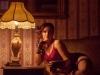 Lámpafénynél glamour fotózás