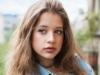 fiatal lány portré