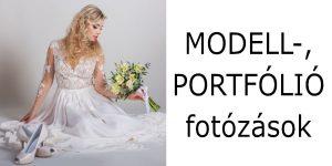 modell portfolió fotozás